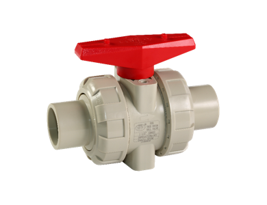 PPH Butt-welding True Union Ball Valve