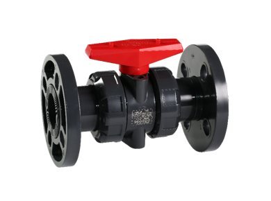UPVC Flange Type True Union Ball Valve